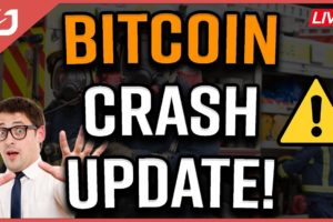 Bitcoin CRASH! THIS Happens NEXT To The Bitcoin Price! Coffee N Crypto LIVE!