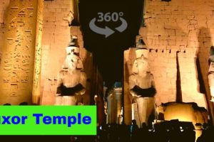 Virtual Reality Tour Luxor Temple, Egypt - 360° 4K VR Experience