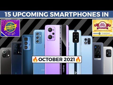 15 UPCOMING SMARTPHONES IN OCTOBER || MOTO EDGE 20 PRO, IQOO Z5X, SAMSUNG M52 5G, MI 11 LITE NE
