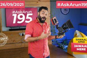 realme GT Neo 2 India Launch,iPhone 14,Smartphone Addiction,Phone Vs DSLR,Asus 8Z Launch-#AskArun195