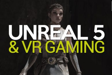 How UNREAL ENGINE 5 Could Change Virtual Reality Games