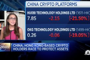 China-based bitcoin holders scramble to safeguard their crypto assets