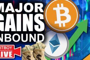Bitcoin & Ethereum Set For Major Gains In October (2021 Blow Off Top Inbound)