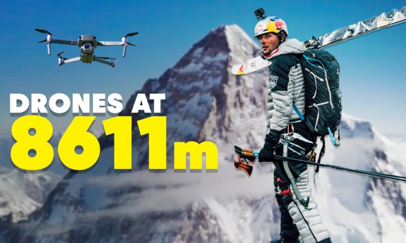 Can Drones Revolutionize Climbing the World's Deadliest Mountains?   K2 with Andrzej Bargiel
