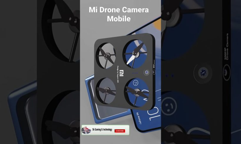 Mi flying Drone Camera Smart Mobile #Shorts