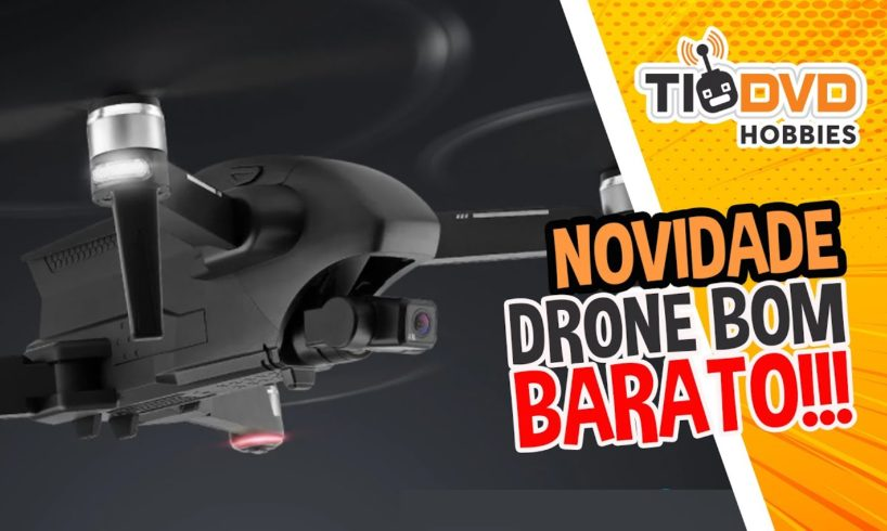 NOVIDADES 2020 DRONES BONS E BARATOS PARA INICIANTES COM CAMERA GIMBAL GPS BRUSHLESS