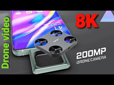 Vivo Fling Drone Camera Video 8k // Drone 200MP