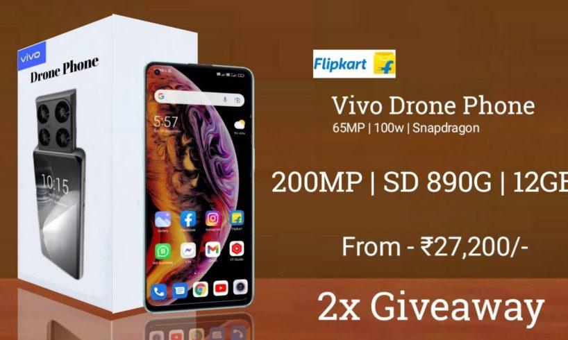 Vivo Flying Camera Phone Like Drone 200MP | Worlds FIRST Flying Drone Camera Phone #vivoflycamera