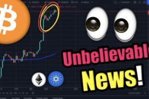 CRYPTO HODLERS...CAN'T BELIEVE THIS IS HAPPENING (BITCOIN, ETHEREUM, CARDANO)