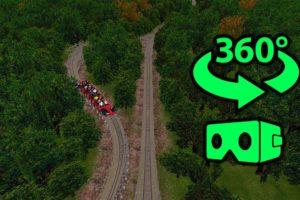 360° VR Video    🎢Wooden Roller Coaster