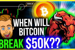 BITCOIN WILL DESTROY $50K TODAY!! (HERE'S WHY)