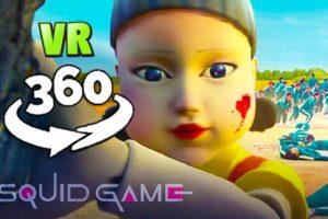 360 Video    SQUID GAME 360 - Red Light Green Light VR