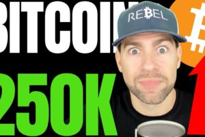 BITCOIN WILL HIT $250K OR HIGHER AFTER BLOWING PAST THIS BTC RESISTANCE LEVEL, SAYS CRYPTO ANALYST!!