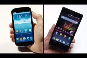 Sony Xperia Z vs Samsung Galaxy S3: Specs