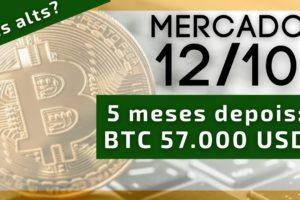 Depois de 5 meses Bitcoin volta aos 57.000 USD. Mas e as altcoins??