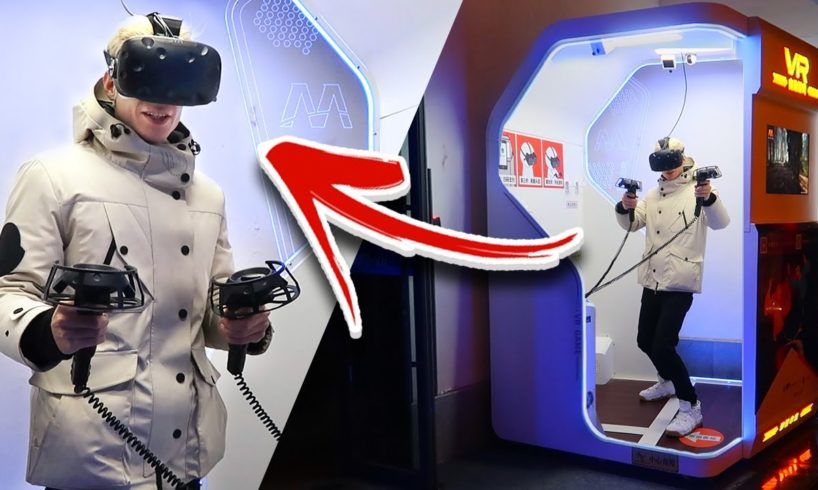This Chinese Virtual Reality Arcade Lets You Play VR Games 24/7