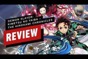 Demon Slayer: Kimetsu no Yaiba - The Hinokami Chronicles Review