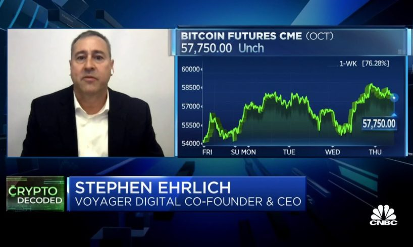 Bitcoin could reach $100,000 by year end: Voyager Digital CEO