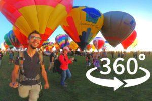 Visit The Albuquerque Balloon Fiesta 2021 in 360 Virtual Reality