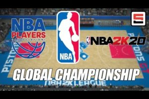 NBA 2K20 Global Championship announced with the NBA and NBPA | ESPN Esports