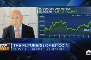 First-ever US bitcoin ETF launches Tuesday. Strategist behind it on what's next