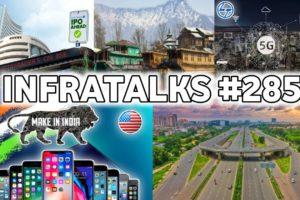 Infratalks #285 - USA Wants MADE IN INDIA Smartphones, Policybazaar IPO, Noida Spur Road, DDRC Pune
