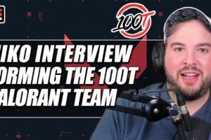 Hiko talks building his own VALORANT team for 100 Thieves | ESPN Esports