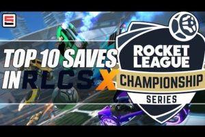 TOP 10 SAVES from Rocket League Championship Series - WEEK 3 | ESPN Esports