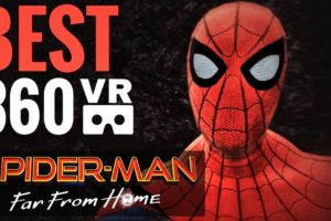 Feel like SPIDER-MAN 🕷 360 VR Experience Virtual Reality Marvel's Far from Home
