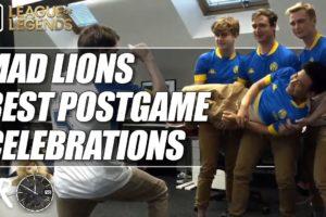 Top 3 MAD Lions Celebrations - LEC Summer 2020   ESPN Esports