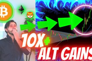 BITCOIN AND TOP ALTCOINS FLASH BIGGEST SIGNAL IN 10 MONTHS!!! SHIBA INU PUMP ONLY BEGINNING FOR ALTS
