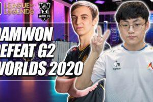 Damwon Gaming Eliminate G2 from Worlds 2020   ESPN Esports