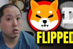 SHIBA INU FLIPPED DOGECOIN | BITCOIN UPDATE