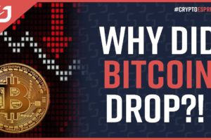 WHY DID BITCOIN DROP?! Here's Why! What Comes Next For Bitcoin? #CryptoEspresso