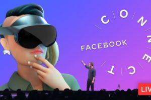 Facebook Connect Livestream 2021 - Oculus Quest Pro Announcement?