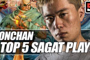Bonchan's best Sagat plays during Capcom Pro Tour 2019 | ESPN Esports