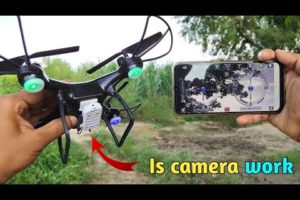Complete Process Of Installing WiFi Camera In a Drone Quadcopter