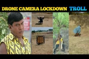 Drone Camera Lockdown Troll | Corona Lockdown Troll | Tamil | Petta Paraak