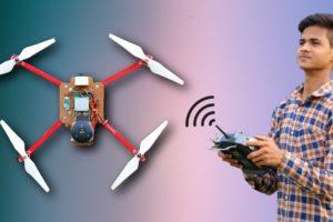 How To Make a Quadcopter Camera Drone