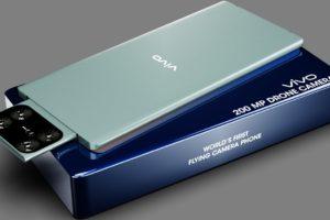 Vivo Flying Camera phone, 200MP | Worlds FIRST Flying Drone Camera Phone, 6000 mAh, 12GB Ram, 512GB