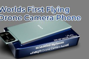 Worlds First Flying Drone Camera Phone | Vivo Flying Camera phone in Malayalam | Tech Net Life