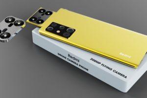 Xiaomi Mini Drone Camera phone, 200MP Worlds FIRST Flying Drone Camera Phone, 6000 mAh, 12GB, 512GB